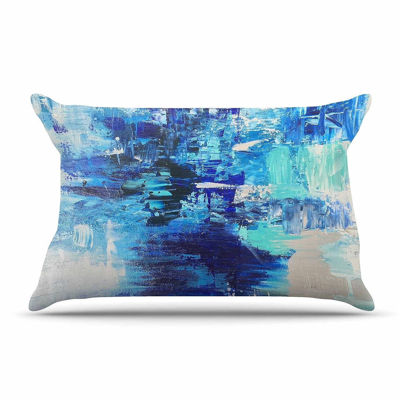 Kess InHouse Walked On Water Pillow Sham 40 x 20