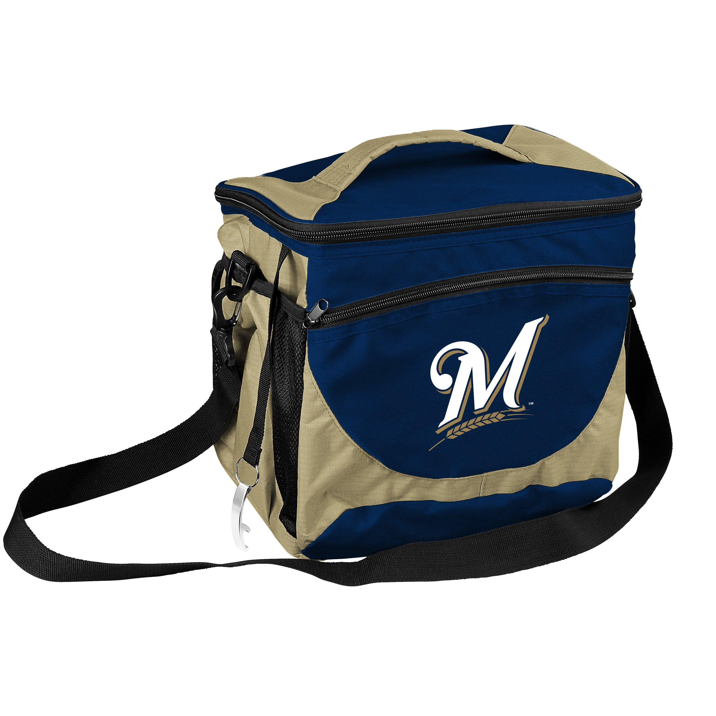Logo Chair MLB Milwaukee Brewers 24 Can Cooler