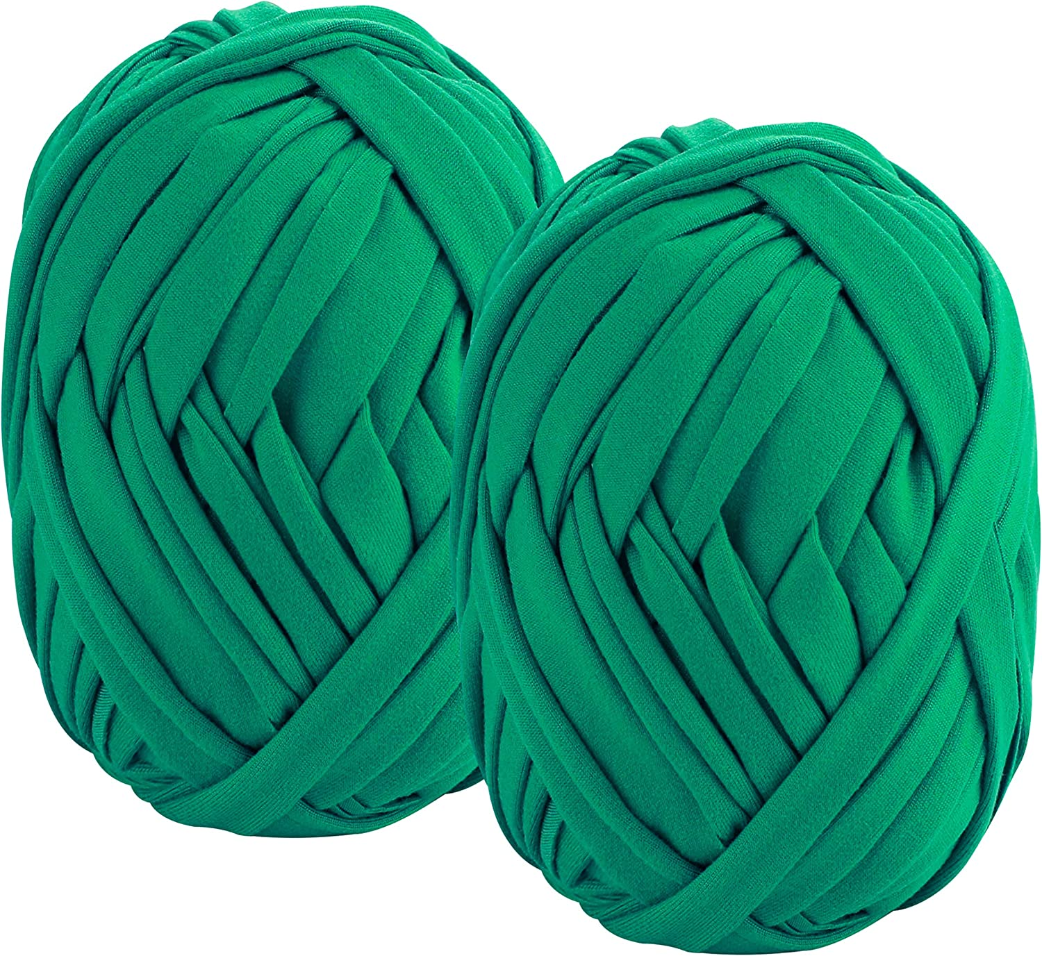 QXUJI 2 Pack Garden String, Green Garden Twine, Soft Ties for Smart Plants, Tree, Flowers, Stretchy Plant Supports for All Gardeners, Craft String (35M/Roll, 115FT)