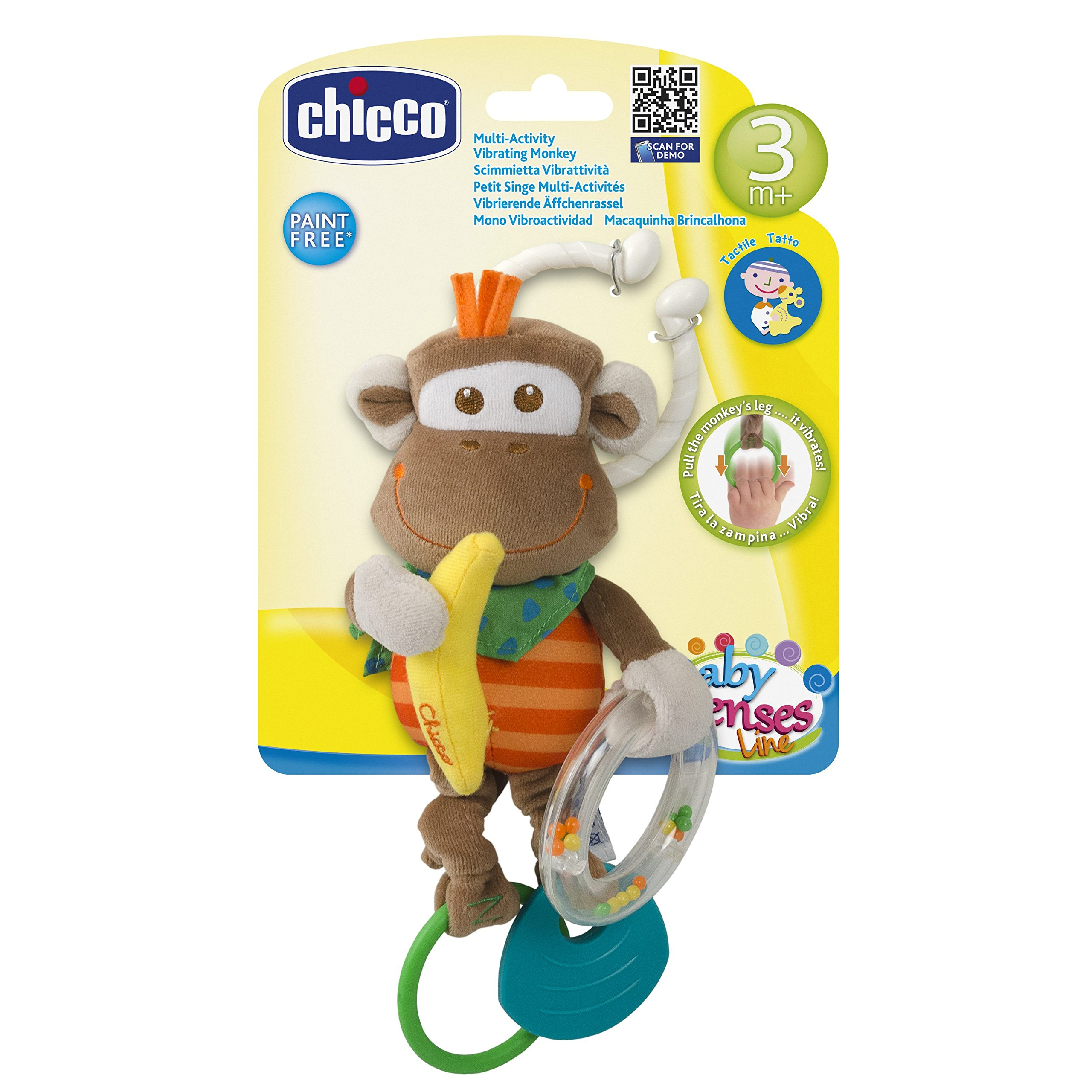 Chicco Multi Activity Vibrating Monkey