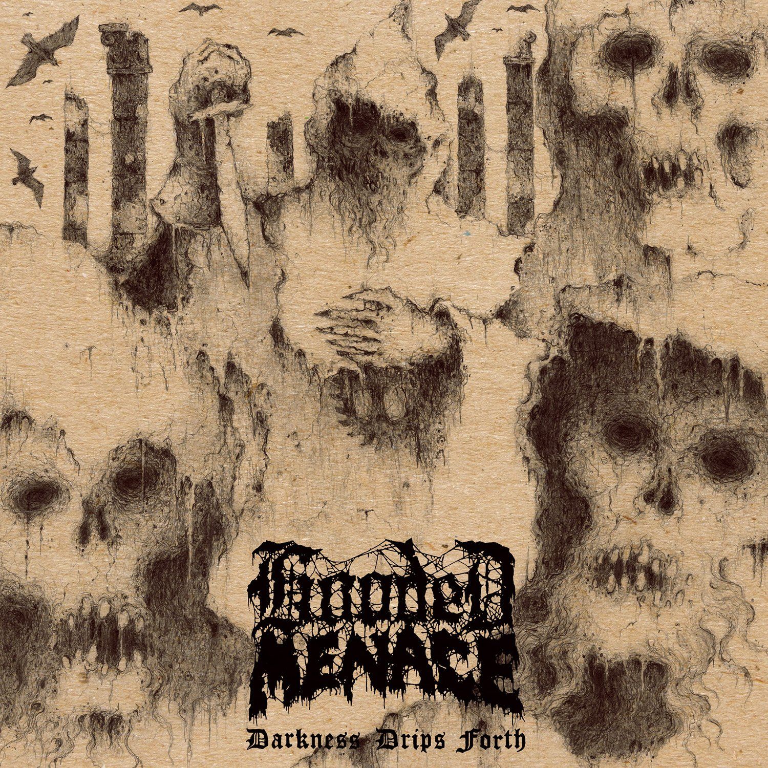 CD : Hooded Menace - Darkness Drips Forth (Digipack Packaging)