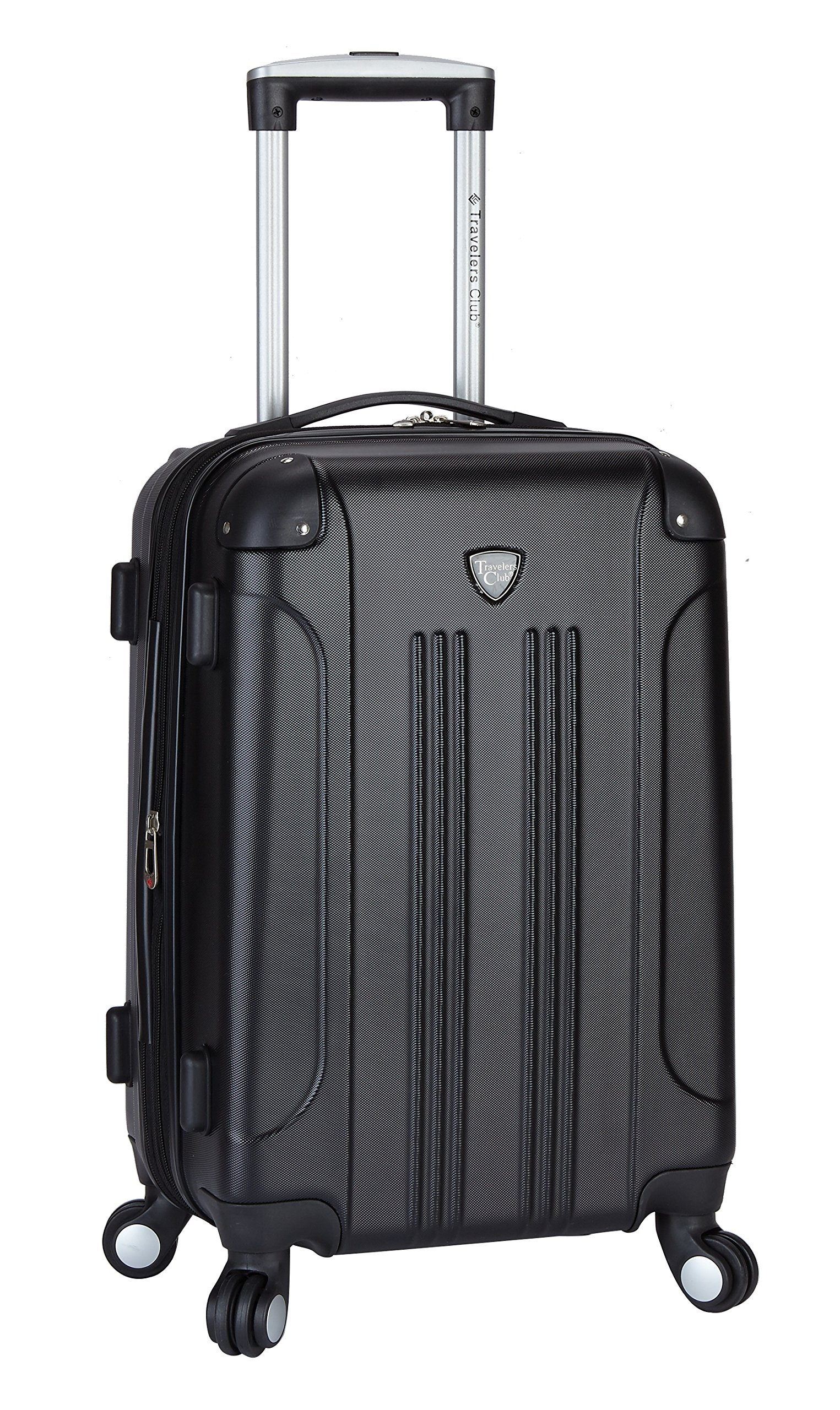Travelers Club 20'' Expandable Hardside Carry-On Luggage with Easy 360º Mobility