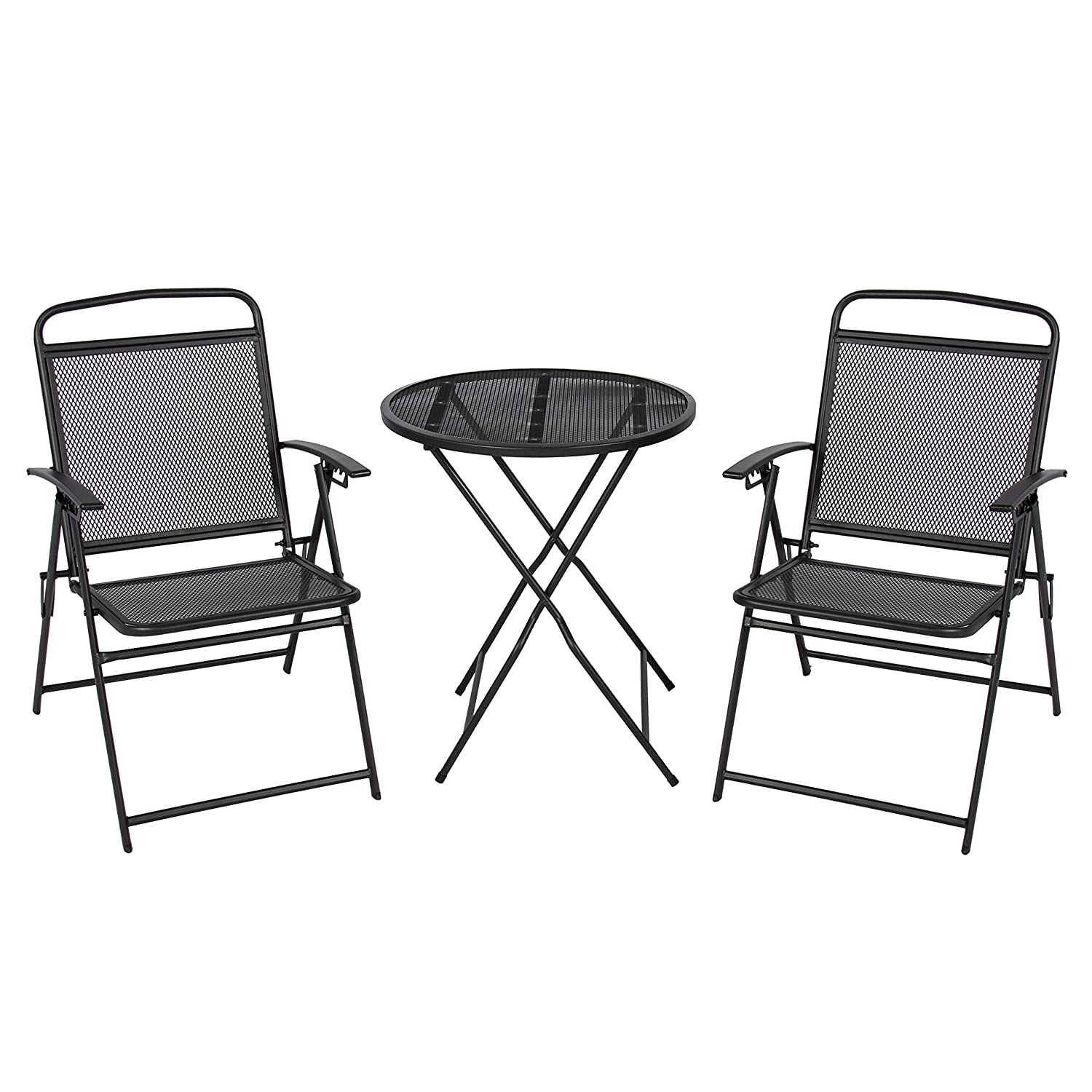 Amazoncom Best ChoiceProducts 3 Piece Patio Bistro Set Outdoor