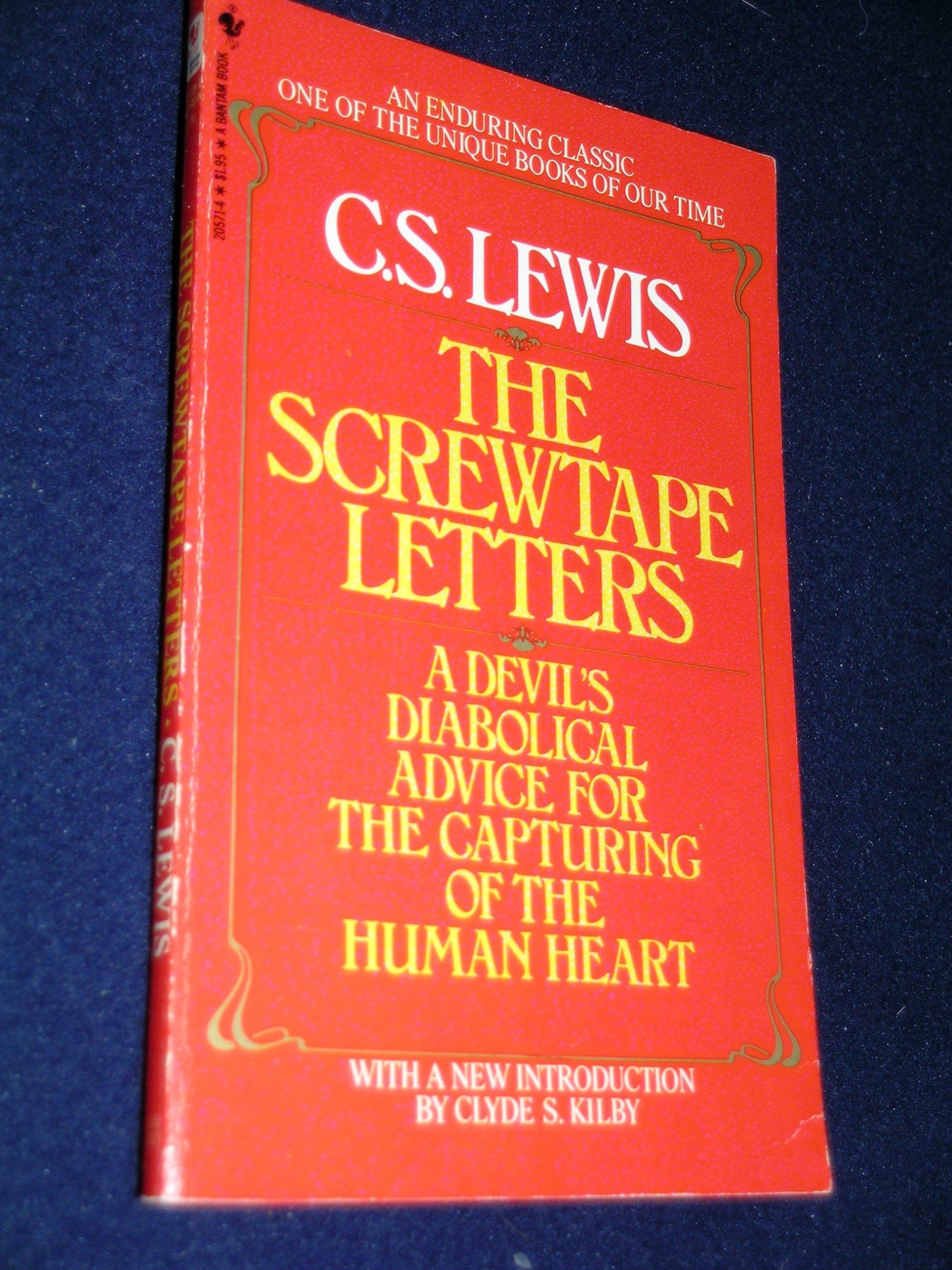 Screwtape Letters, Lewis, C S