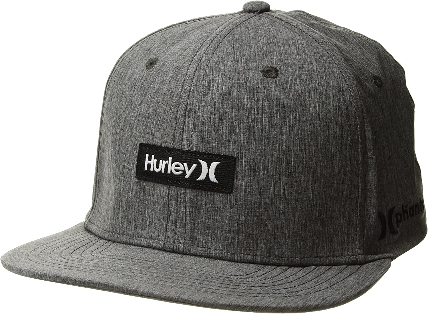 Hurley New Mens Phantom One /& Only Hat Stretch Spandex Blue