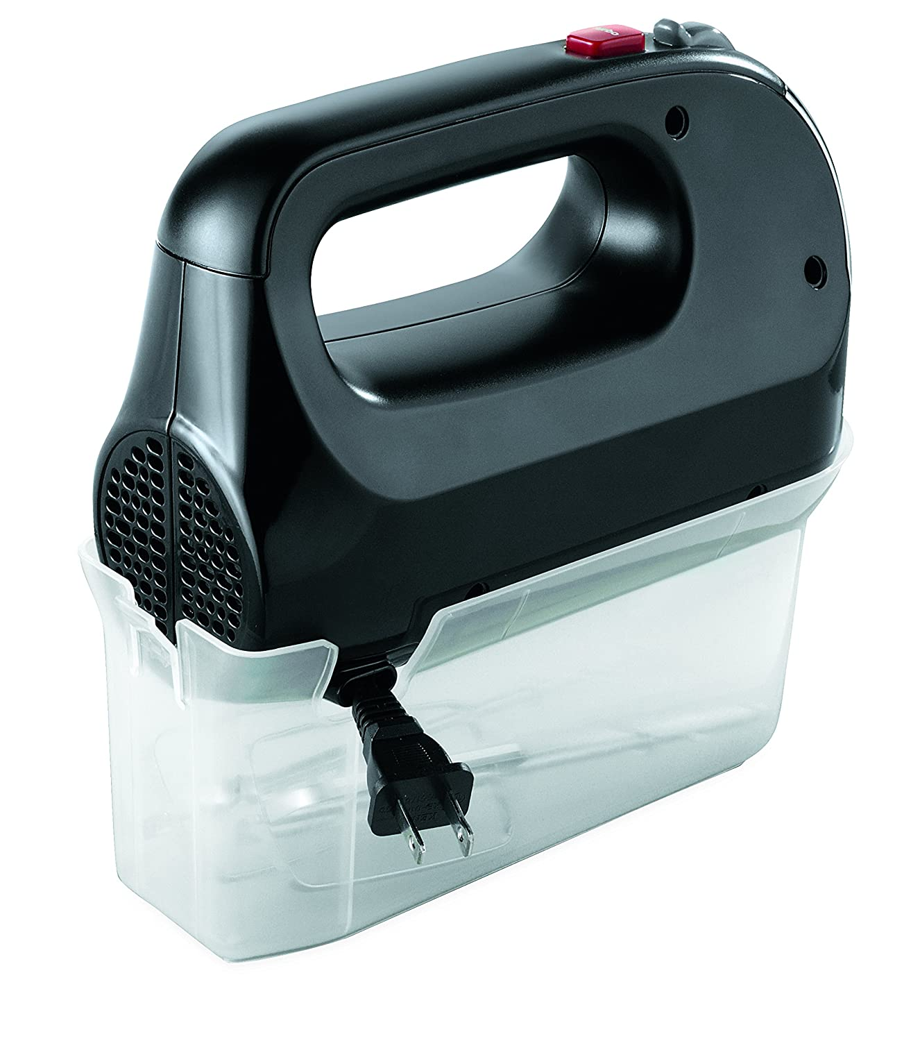 Black Oster FPSTHM0152-NP 5 Speed Hand Mixer with Storage Case