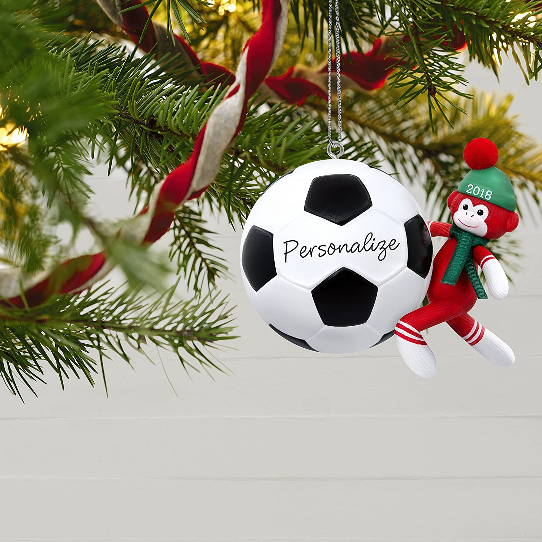Amazon.com: Hallmark Keepsake Personalized Christmas Ornament 2018 ...