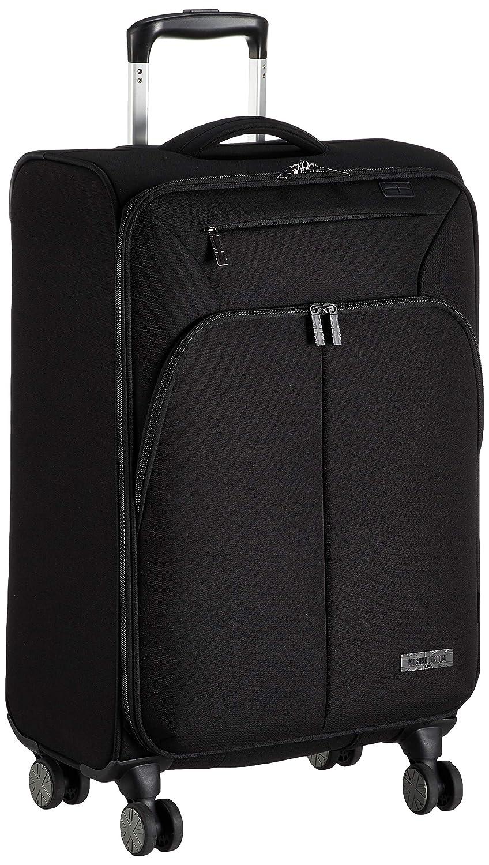 [シフレ] ソフトジッパースーツケース ミチコロンドン 不可 50L 56 cm 2.86 kg MCL3092-56  ブラック B07PDKC5DX