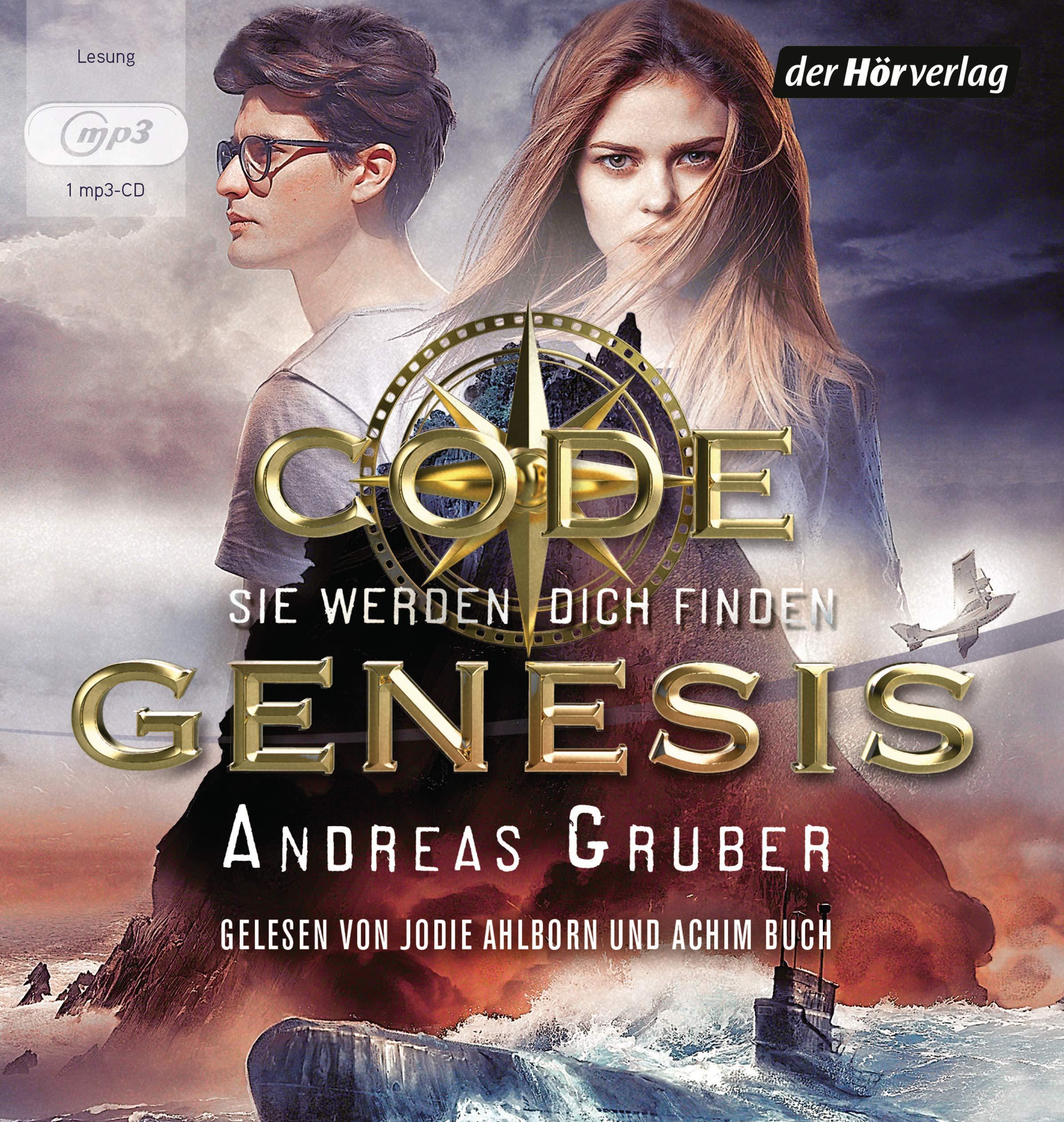 Code Genesis - Sie werden dich finden (Code Genesis-Serie, Band 1) Hörkassette – Gekürzte Ausgabe, Audiobook, MP3 Audio Andreas Gruber Achim Buch Jodie Ahlborn der Hörverlag