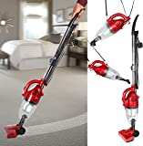 800W 2-in-1 Upright Stick & Handheld Vacuum Cleaner with HEPA and Sponge Filtration & Crevice Tool light weight vacuum cleaner