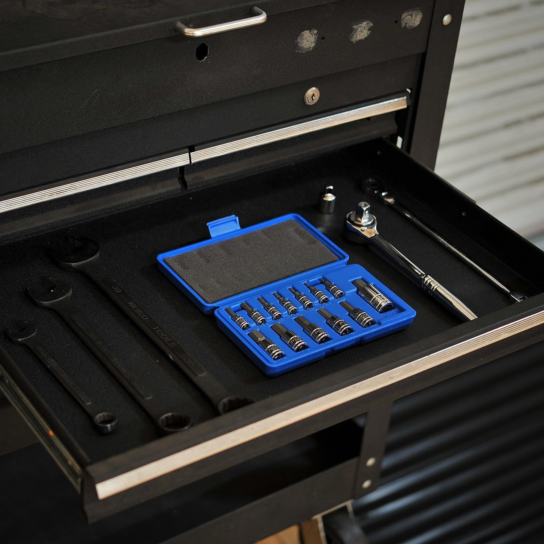 Neiko 10074A Metric Allen Hex Bit Socket Set Cr-V 13-Piece