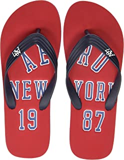 1b560f7a0e50 Aeropostale Men s Leon Flip Flops Thong Sandals  Buy Online at Low ...