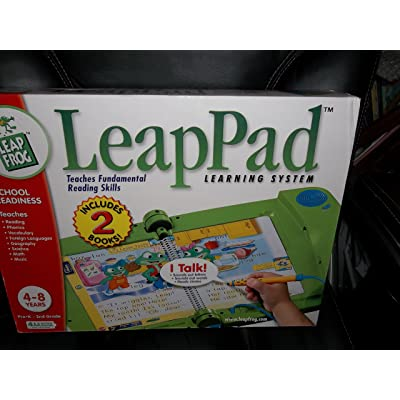 LEAPPAD LEAP FROG LEARNING SYSTEM (INCLUDES 2 BOOKS): Office Products
