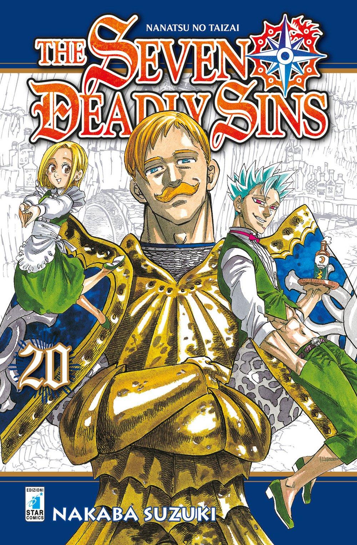 The seven deadly sins: 20 Copertina flessibile – 3 ott 2017 Nakaba Suzuki M. Riminucci Star Comics 8822607260