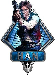 Silver Buffalo SW3506 Disney Star Wars Han Solo Episode 4 Shooting Die Cut Wood Wall Art, 13 x 9.5 inches
