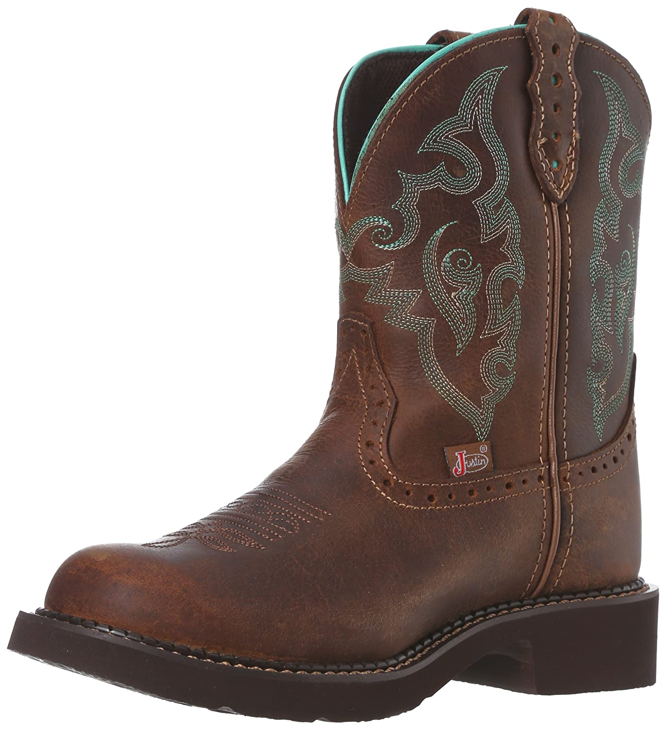 Justin Boots Women's Gypsy Collection Western Boot B008B115EU 7 B(M) US|Tan Jaguar