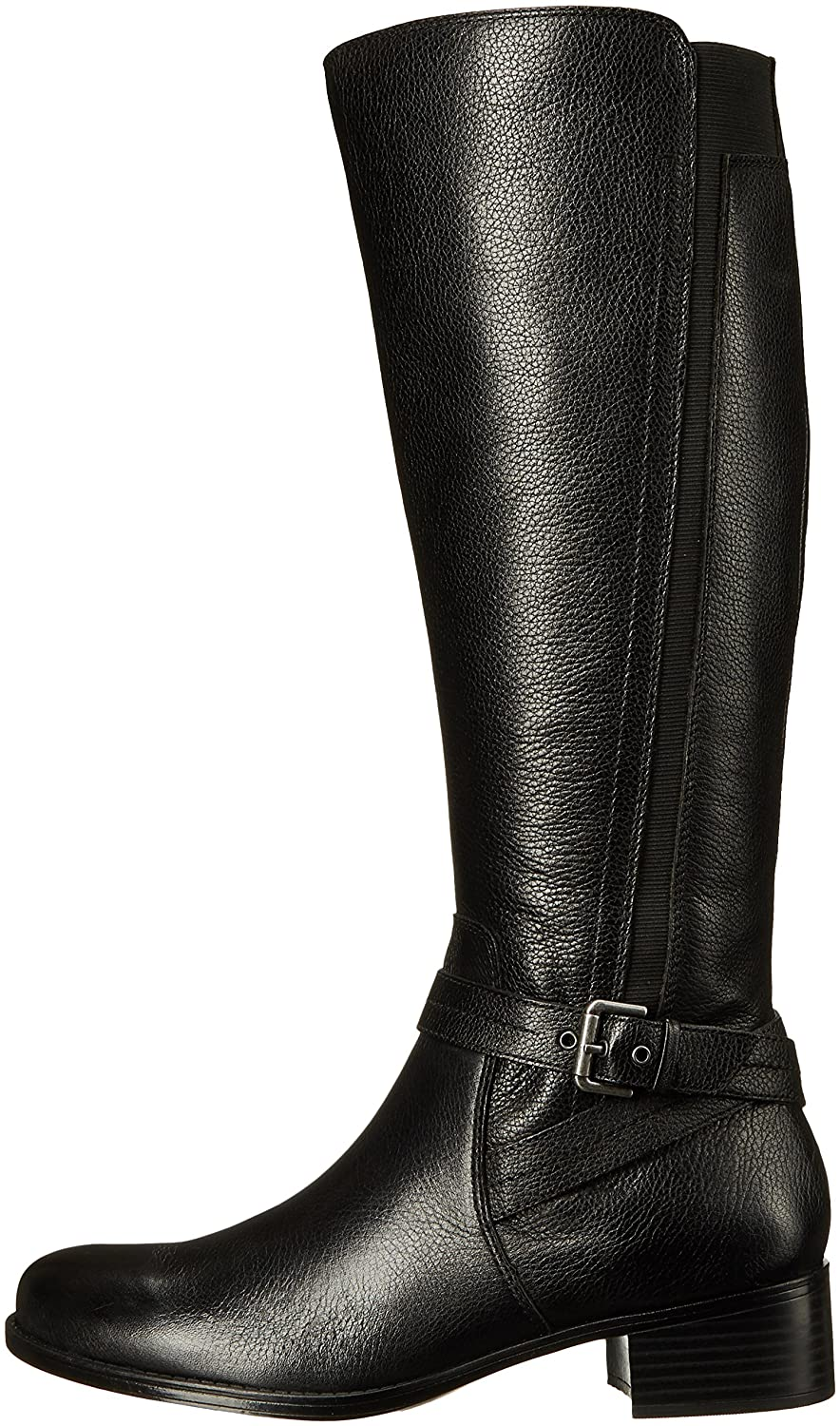 Naturalizer Women's Wynnie Riding Boot B01BUH8EMC 6.5 B(M) US|Black