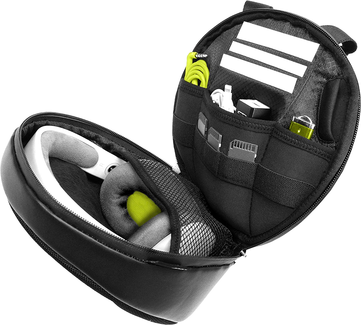 Orbit Concepts DELOOP SPORT Ballistic Nylon Universal Carrying Bag/Case for On-Ear Headphones and Accessories, Fits Sennheiser, Sony, Audio Technica, all Beats by Dre and more