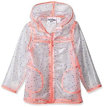63c7bd997 Amazon.com  OshKosh B Gosh Girls  Translucent Rainslicker Rain ...