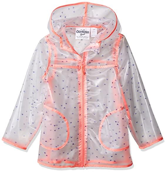 Amazon.com: OshKosh BGosh - Chaqueta impermeable para niña ...