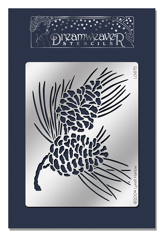 Stampendous Dreamweaver Metal Cones Stencil 5