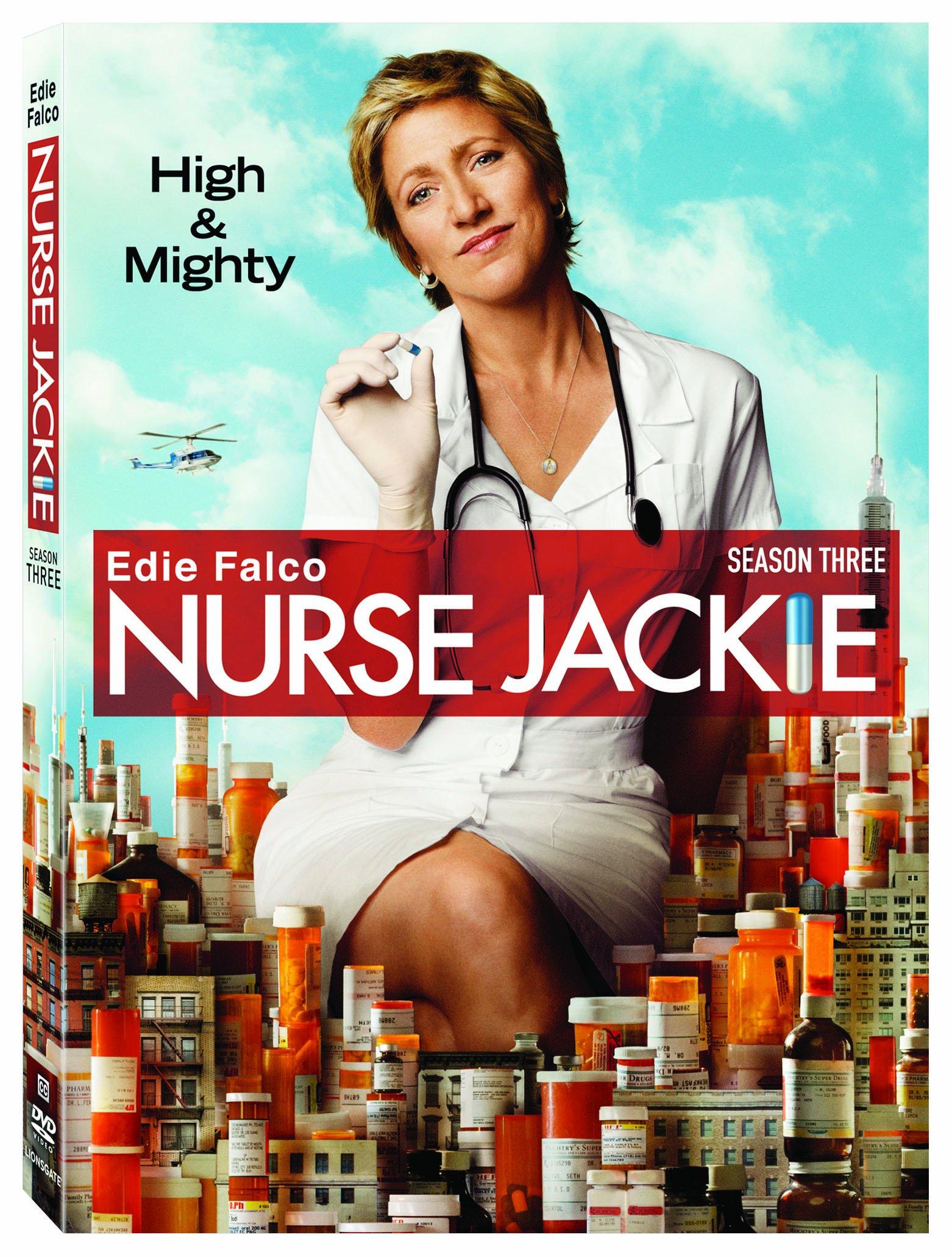 DVD : Nurse Jackie: Season 3 (Widescreen, Dolby, AC-3, 3 Disc)