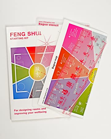 Feng Shui Starter Kit Including Bagua Map Hands On Alternative To Books