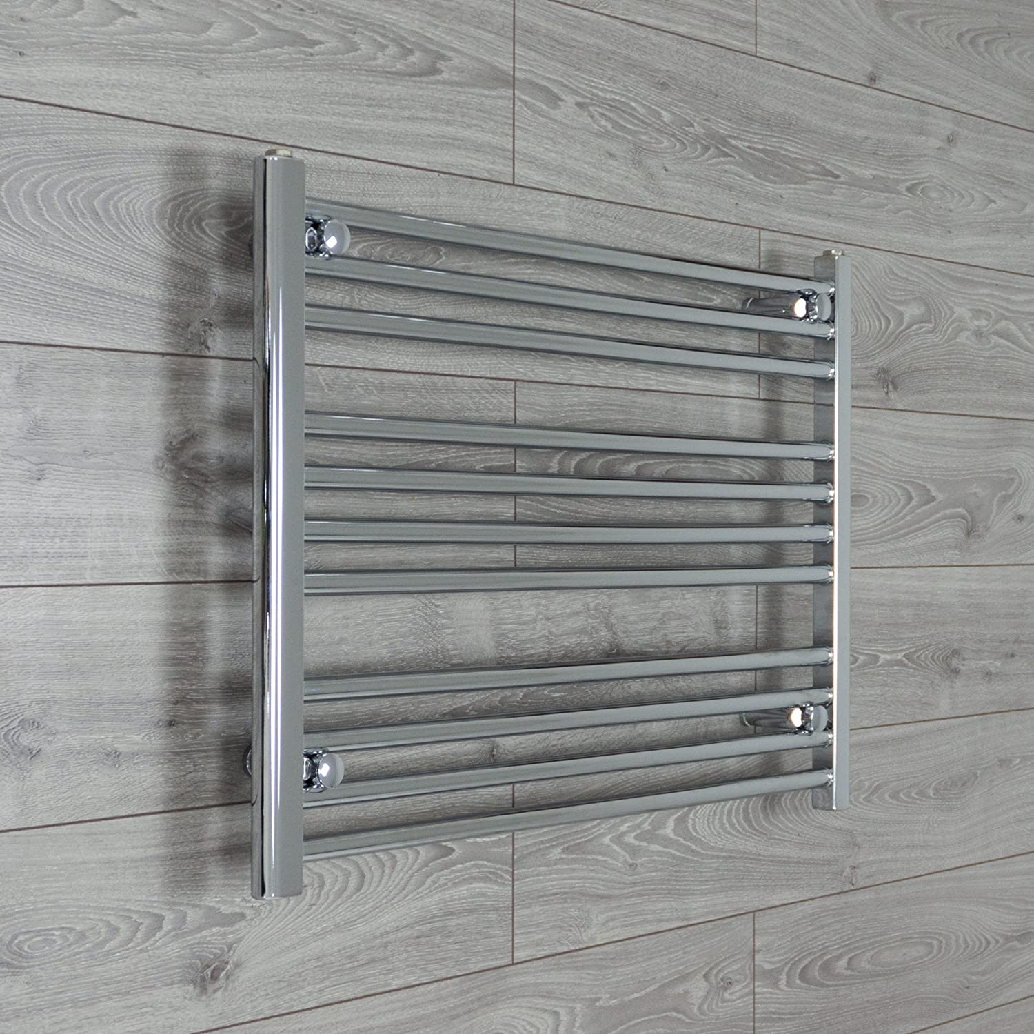 900mm wide 600mm high Chrome Heated Towel Rails Bathroom