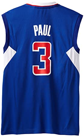 NBA Los Angeles Clippers - Camiseta réplica Azul Chris Paul # 3, Hombre, 7818A3R1AEB1532, Los Angeles Clippers, XX-Large: Amazon.es: Deportes y aire libre