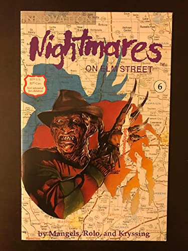 Nightmares On Elm Street 6 1992 First Printing Innovation Comic Book Nm Condition Freddy Krueger Nightmare At Amazon S Entertainment Collectibles Store