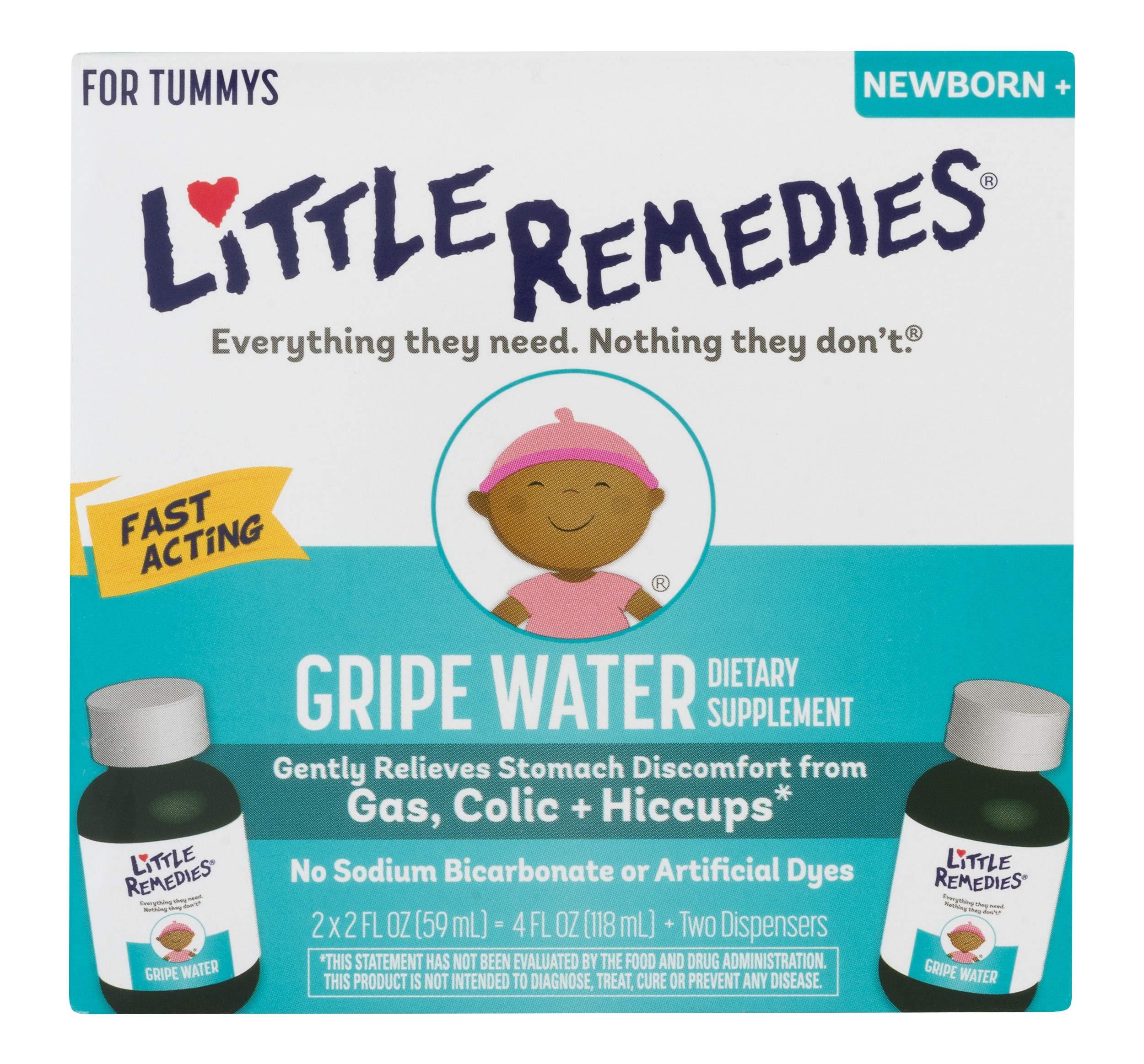 Little Remedies Gripe Water, Safe for Newborns, 2 Fl Oz, Pack of 2