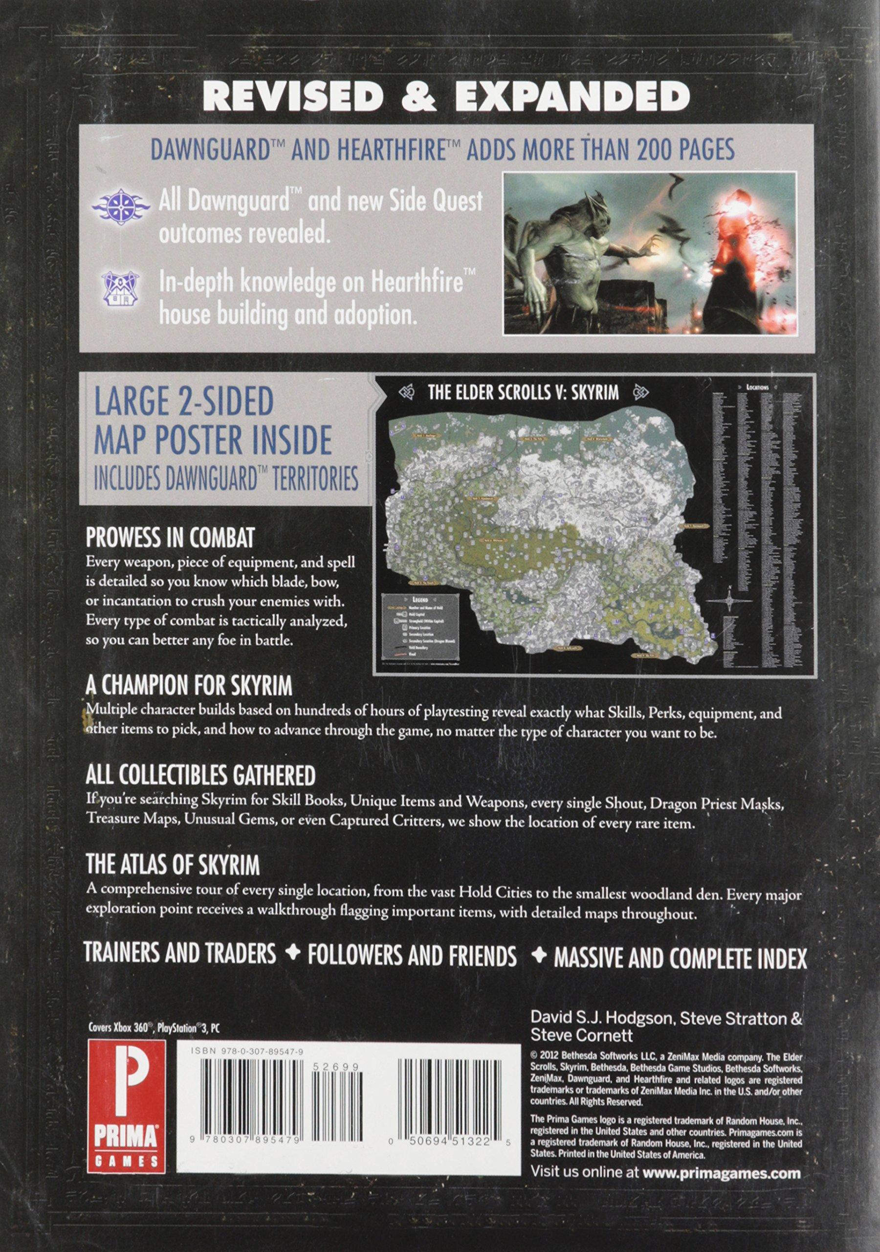 Elder Scrolls V: Skyrim: Prima Official Game Guide [With Map ... on