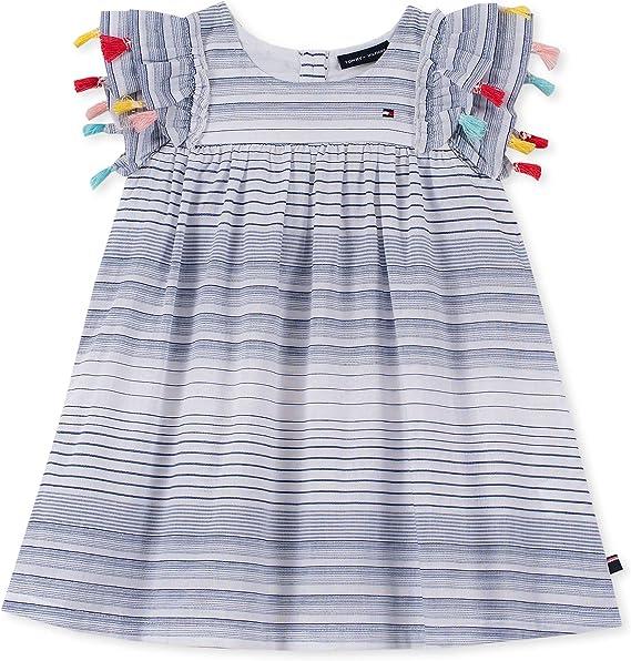 Amazon.com: Tommy Hilfiger - Vestido para niña: Clothing
