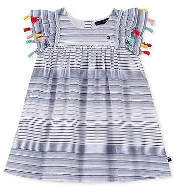 35d288f85 Tommy Hilfiger Baby Girls Dress, Rose Plaid 3-6 Months