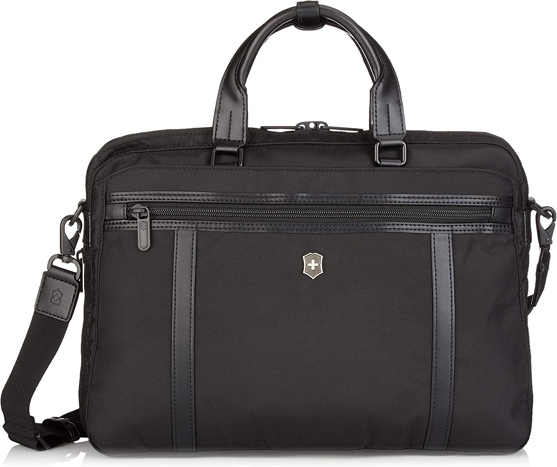 Victorinox Werks Professional 2.0 Laptop Briefcase, Black, 11.8-inch