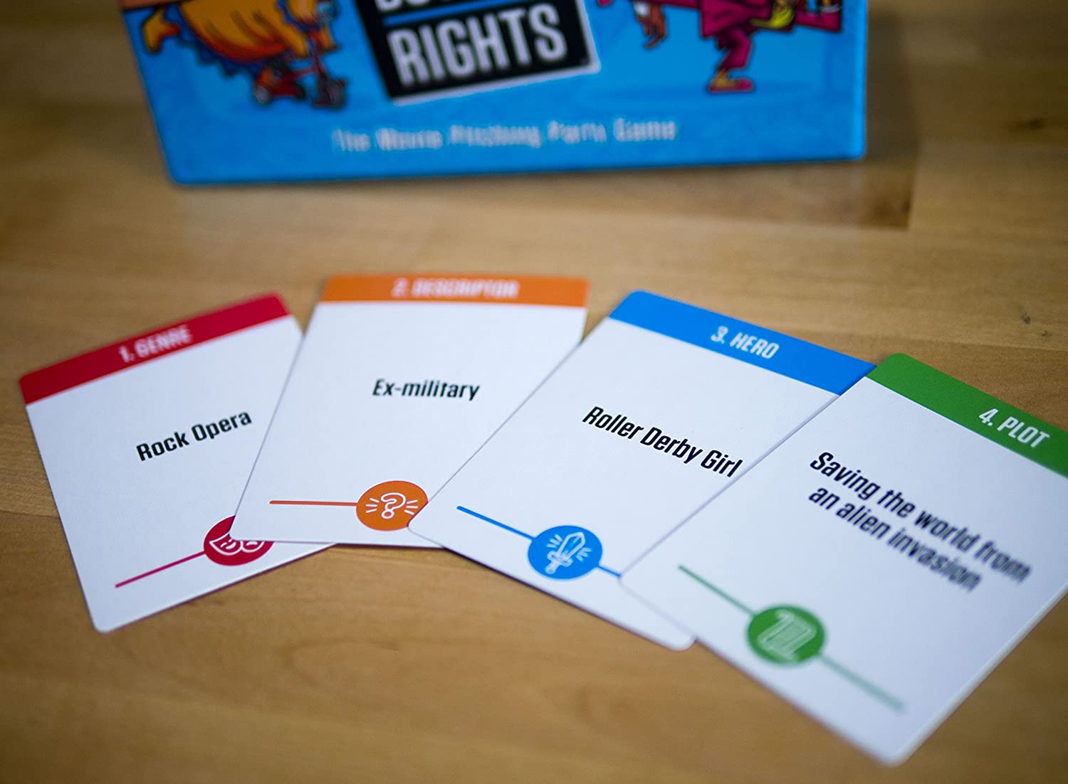Amazon.com: Buy the Rights - The Movie Pitching Party Game: Toys ...