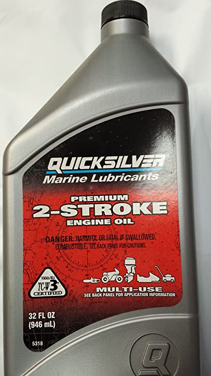 Amazon.com: Mercurio Quicksilver Premium 2 Ciclo 2 Stroke ...