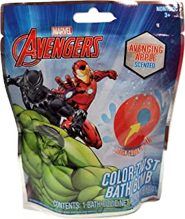 Avengers Kids Color-Twist Bath Bomb Fizzie - Ave-nging Apple Scented