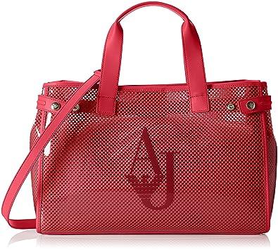 Armani Jeans 9225917p780, Sac porté main femme - rouge - Rot (PERSIAN RED  07676 3e99e5647d3