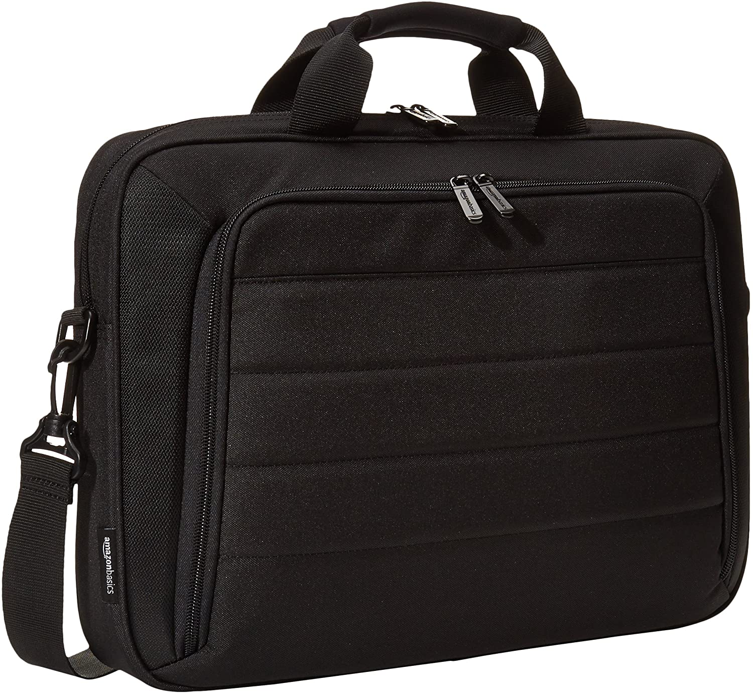 AmazonBasics 15.6 Inch Laptop and Tablet Case, Black, 5-Pack