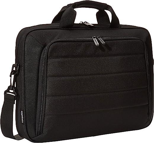 AmazonBasics 15.6 Inch Laptop and Tablet Case Shoulder Bag, Black