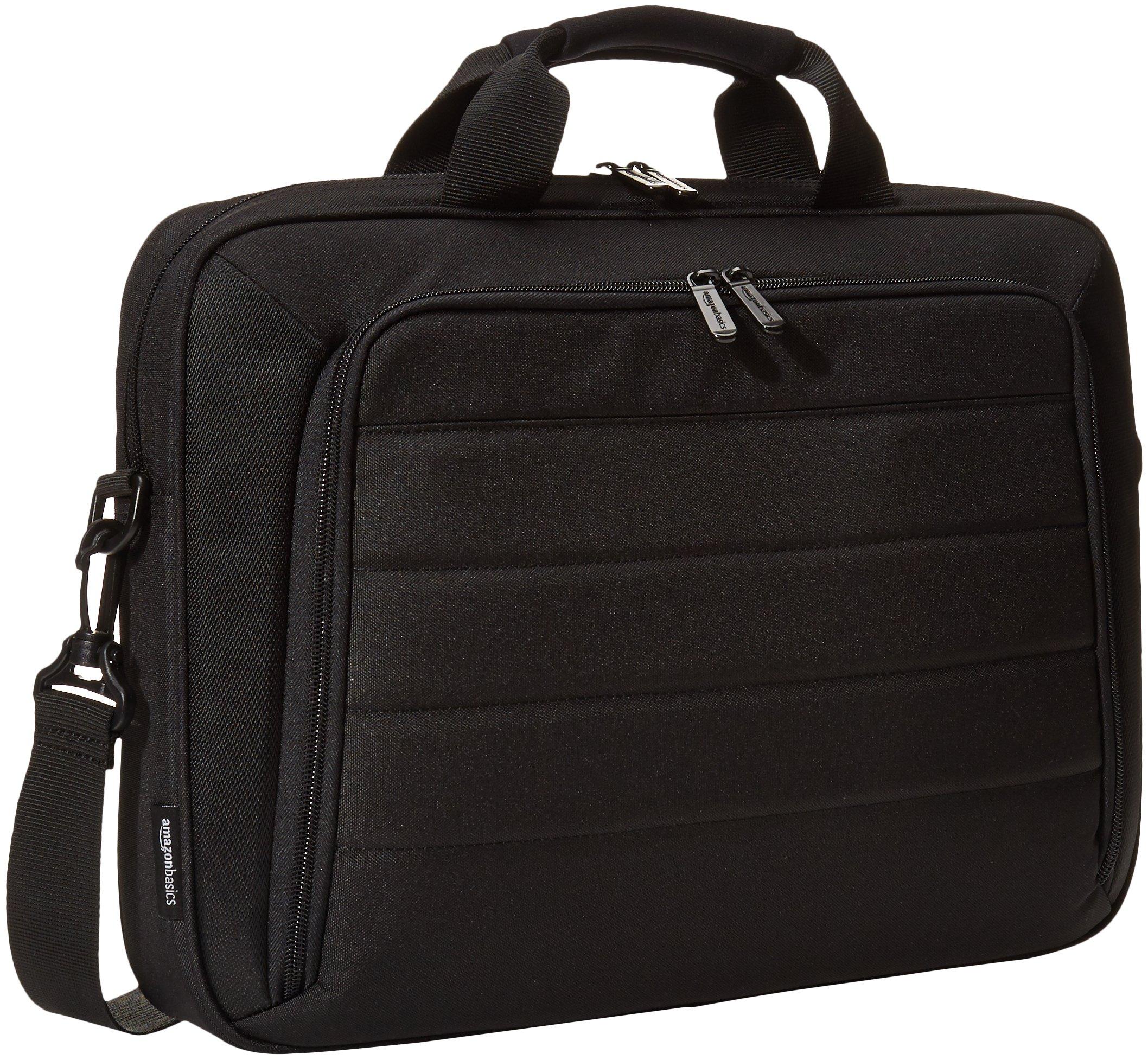 AmazonBasics 15.6 Inch Laptop and Tablet Case Shoulder Bag, Black by AmazonBasics