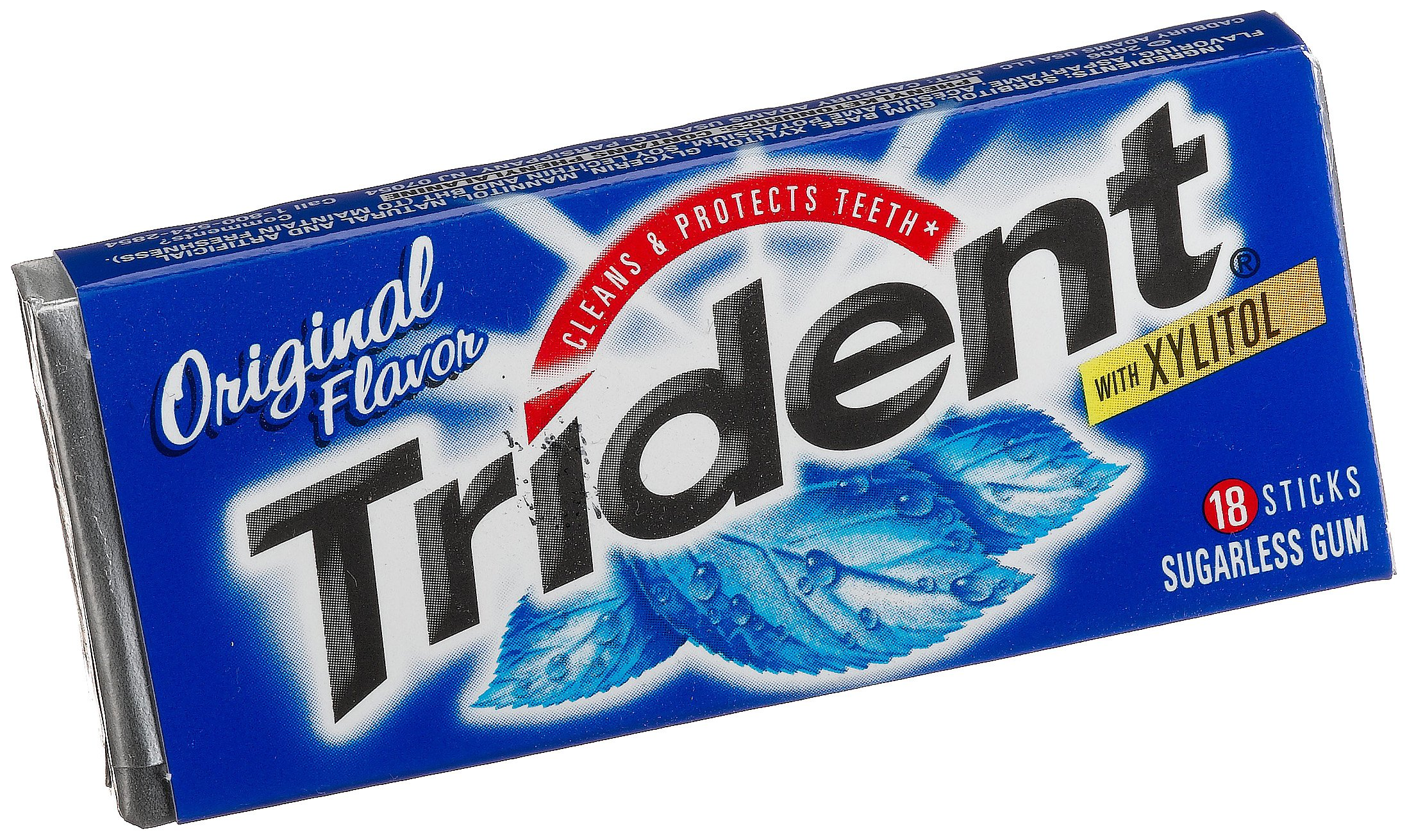 Trident Sugar Free Gum (Original, 18-Piece, 24-Pack) by Trident