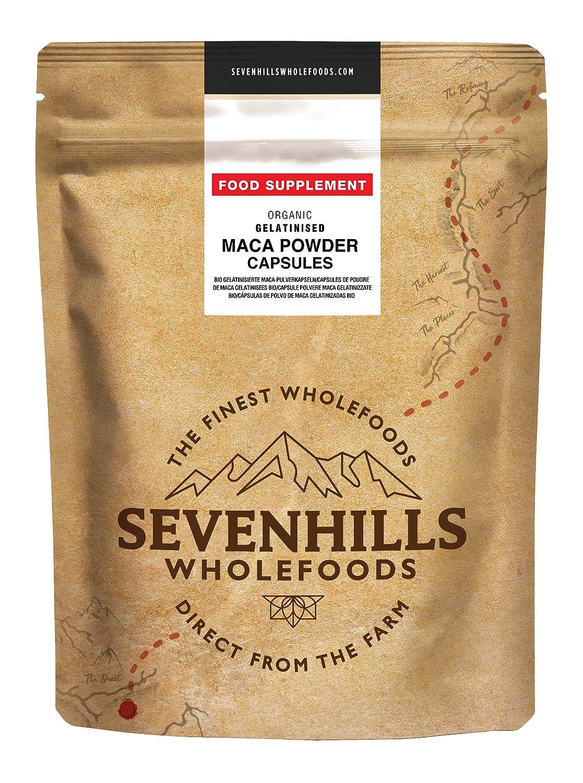 Sevenhills Wholefoods Maca Gelatinizada En Polvo Orgánico 2kg