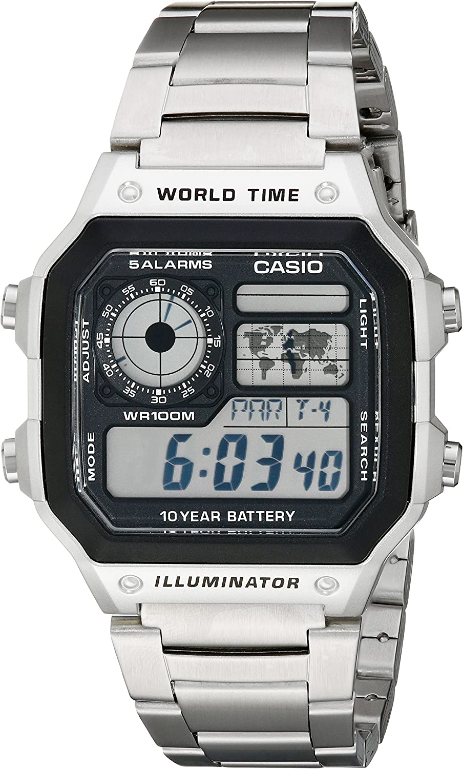 Casio AE1200WHD-1AV Hombres Relojes