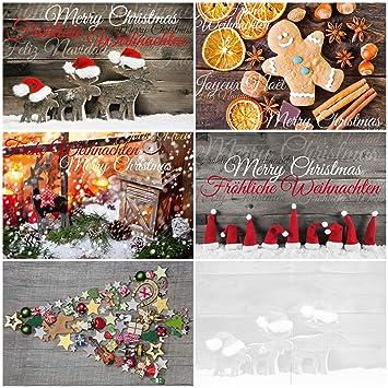 Weihnachtskarten Für Fotos.50 Weihnachtskarten Nostalgie Ii 50 Er Postkarten Set 5 Motive X 10 St 50 St Nostalgisch Ein Nostalgie Weihnachtspostkarten Set Im