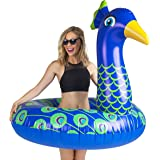 BigMouth Inc Giant Peacock Pool Float