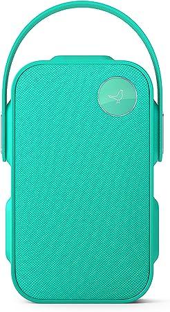 Libratone One Click Bluetooth Lautsprecher 360 Sound Touch Bedienung Ipx4 Spritzwassergeschützt 12 Std Akku Caribbean Green Audio Hifi