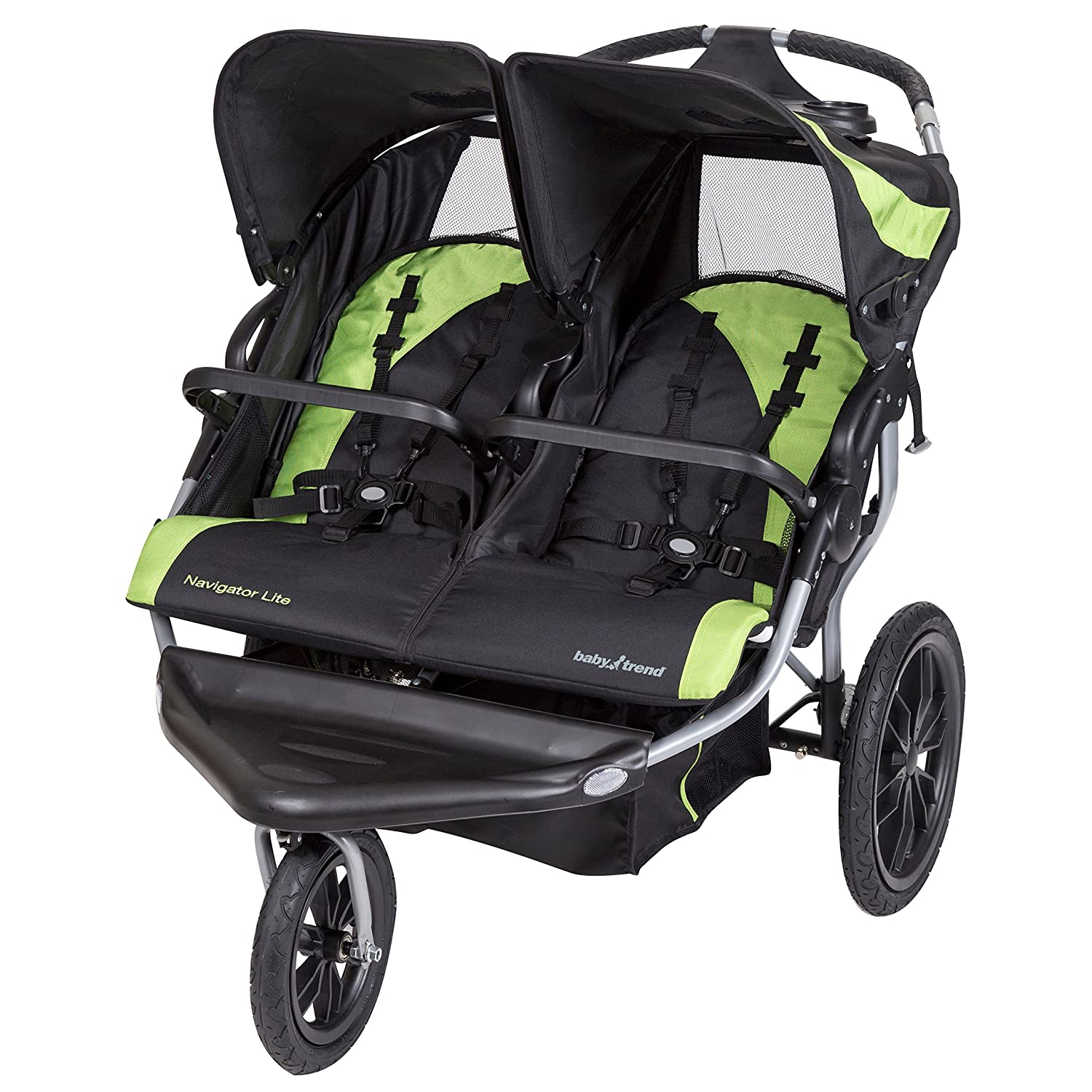 Amazon Baby Trend Navigator Lite Double Jogger Stroller Lincoln Baby