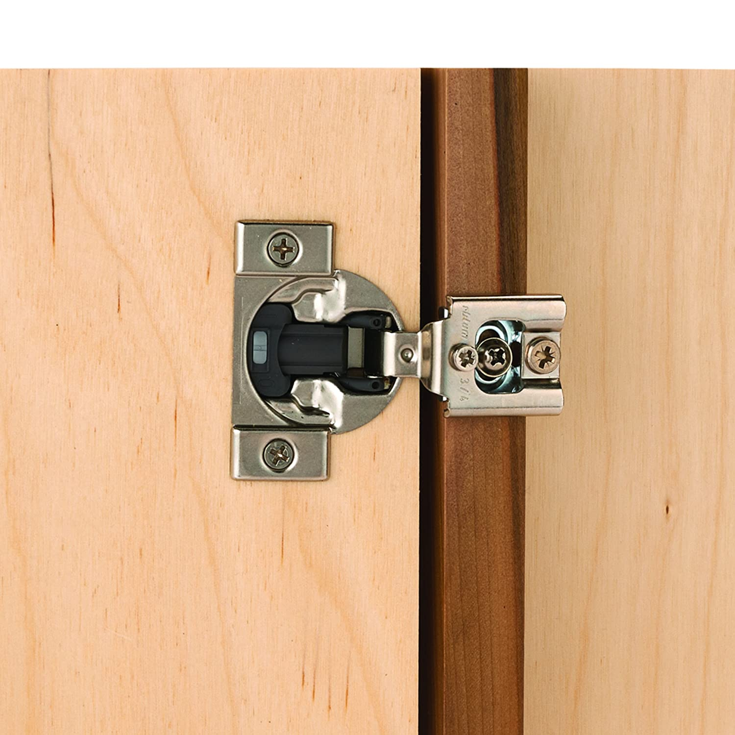 """Blum Compact Face Frame Hinge with Blumotion 1/2"""" Overlay Pair"""